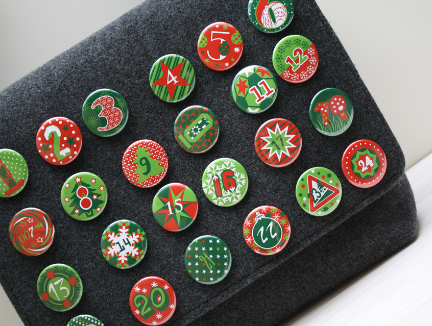 Button Set - Design X-Mas Classic